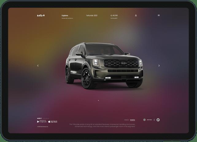 Kia webapp